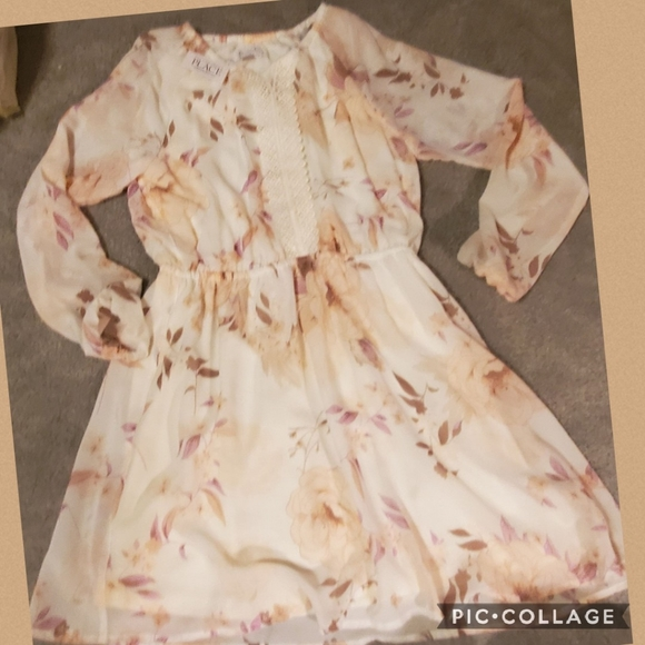 Sheer lined dress new 16 the childrens place
